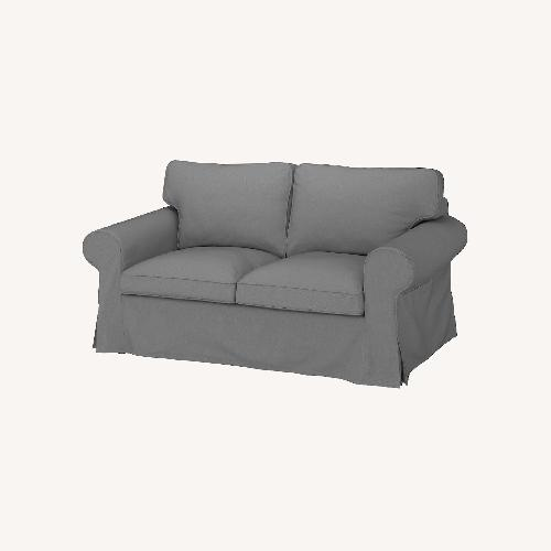 Used IKEA Gray Loveseat for sale on AptDeco