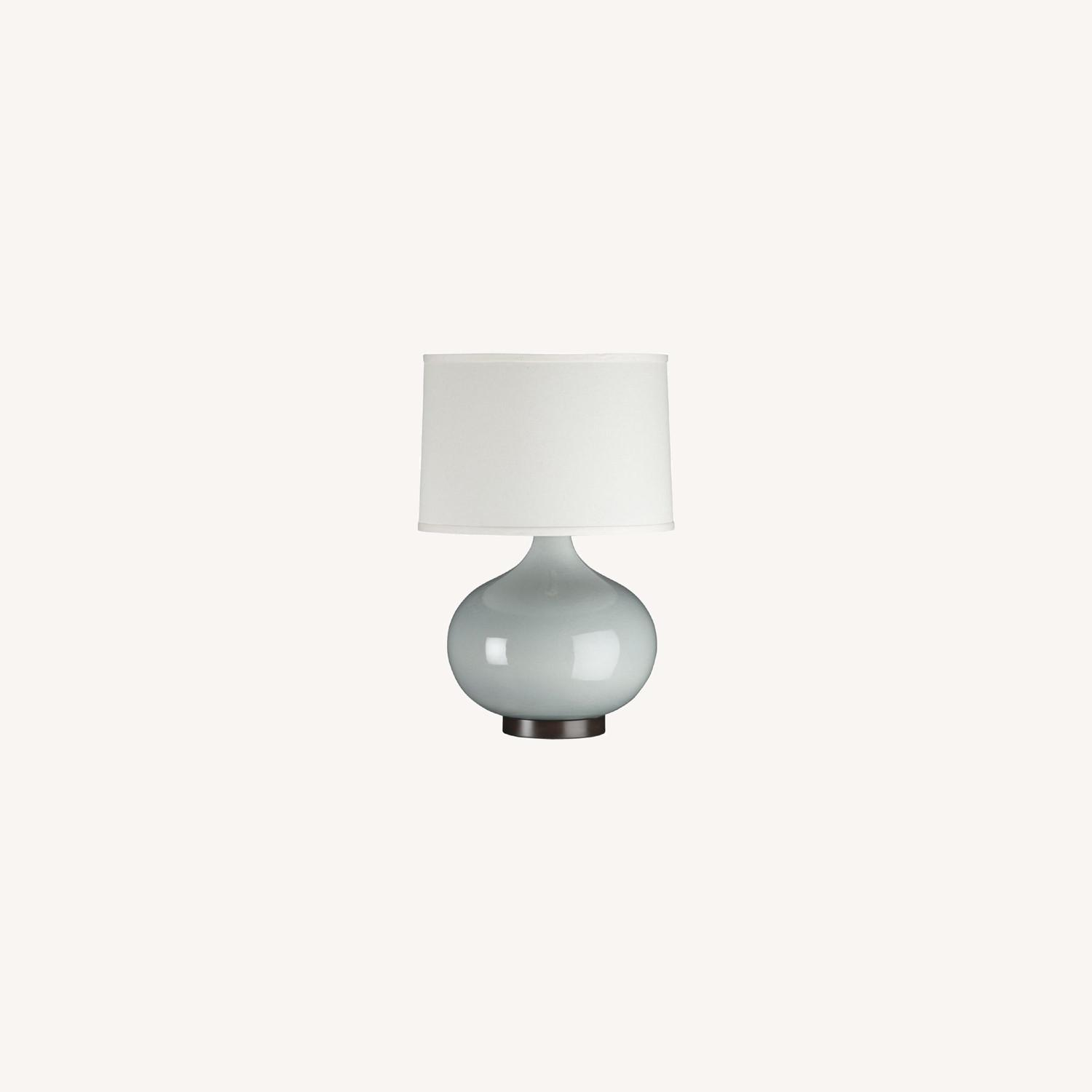 Crate & Barrel Merie Table Lamps (set of 2) - image-0