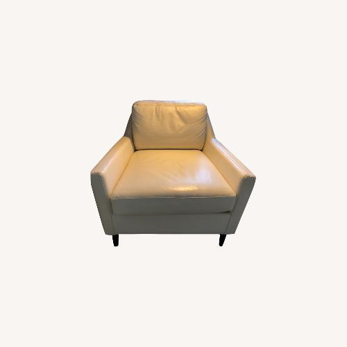 Used West Elm Leather Chair for sale on AptDeco