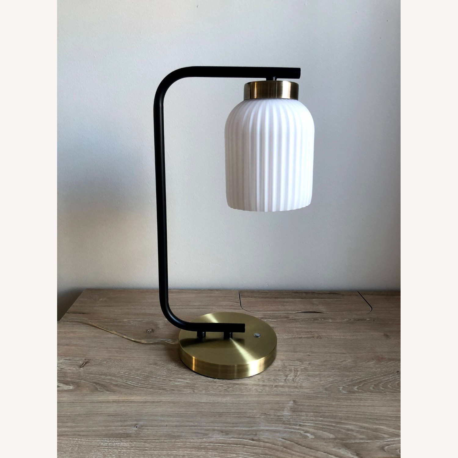 West Elm Suspended Glass Table Lamp - image-2