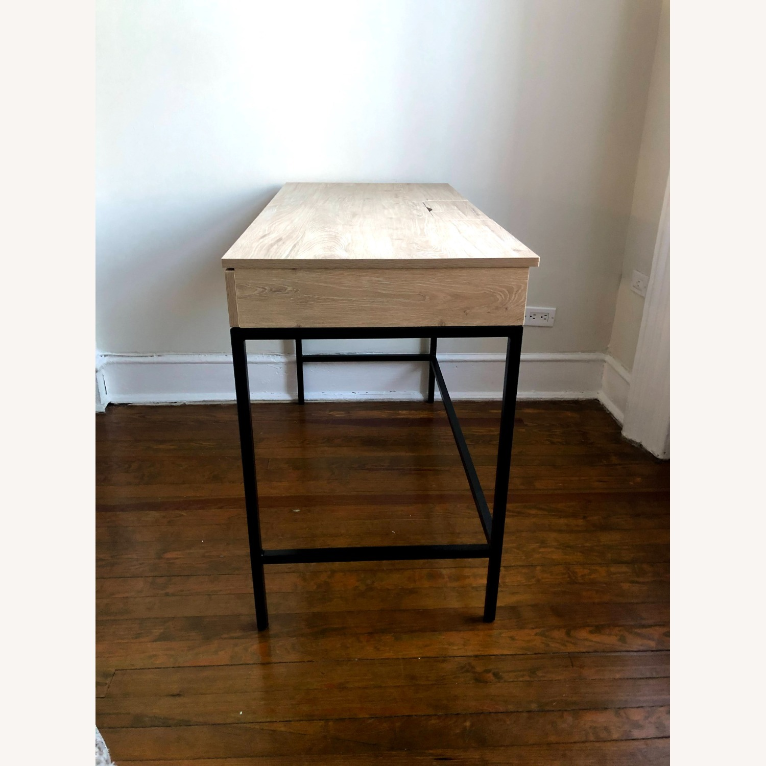 Target Project 62 Loring Wood Writing Desk with Drawers - image-4