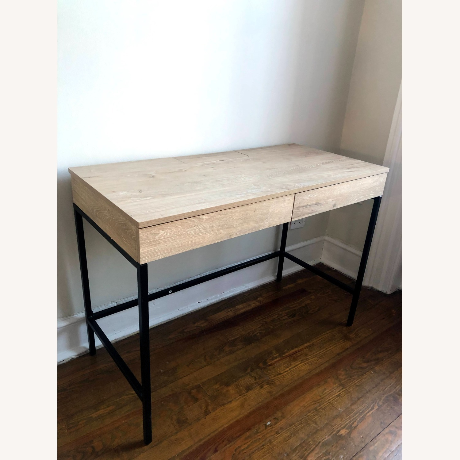 Target Project 62 Loring Wood Writing Desk with Drawers - image-2