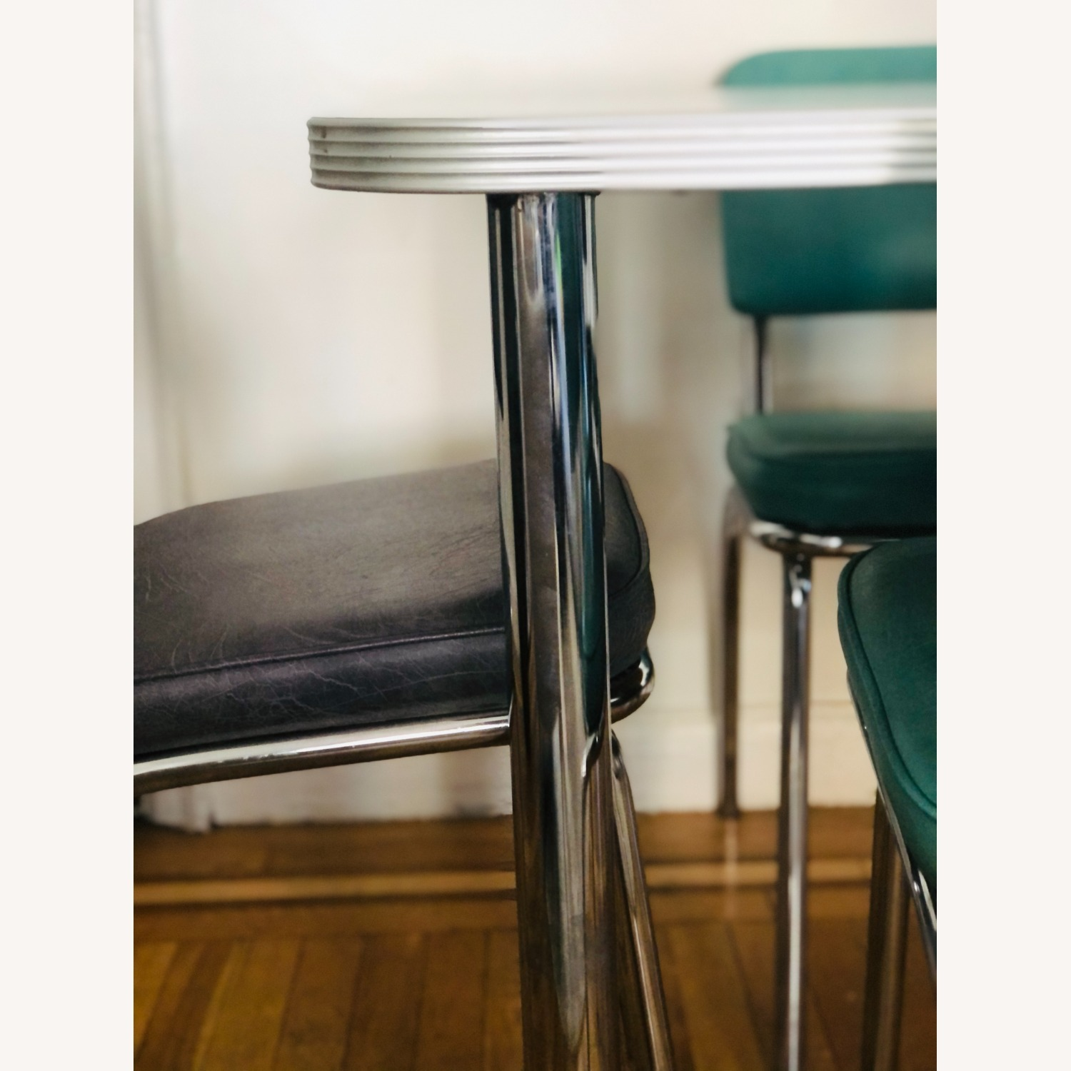 Formica and Chrome Dining Set - image-7