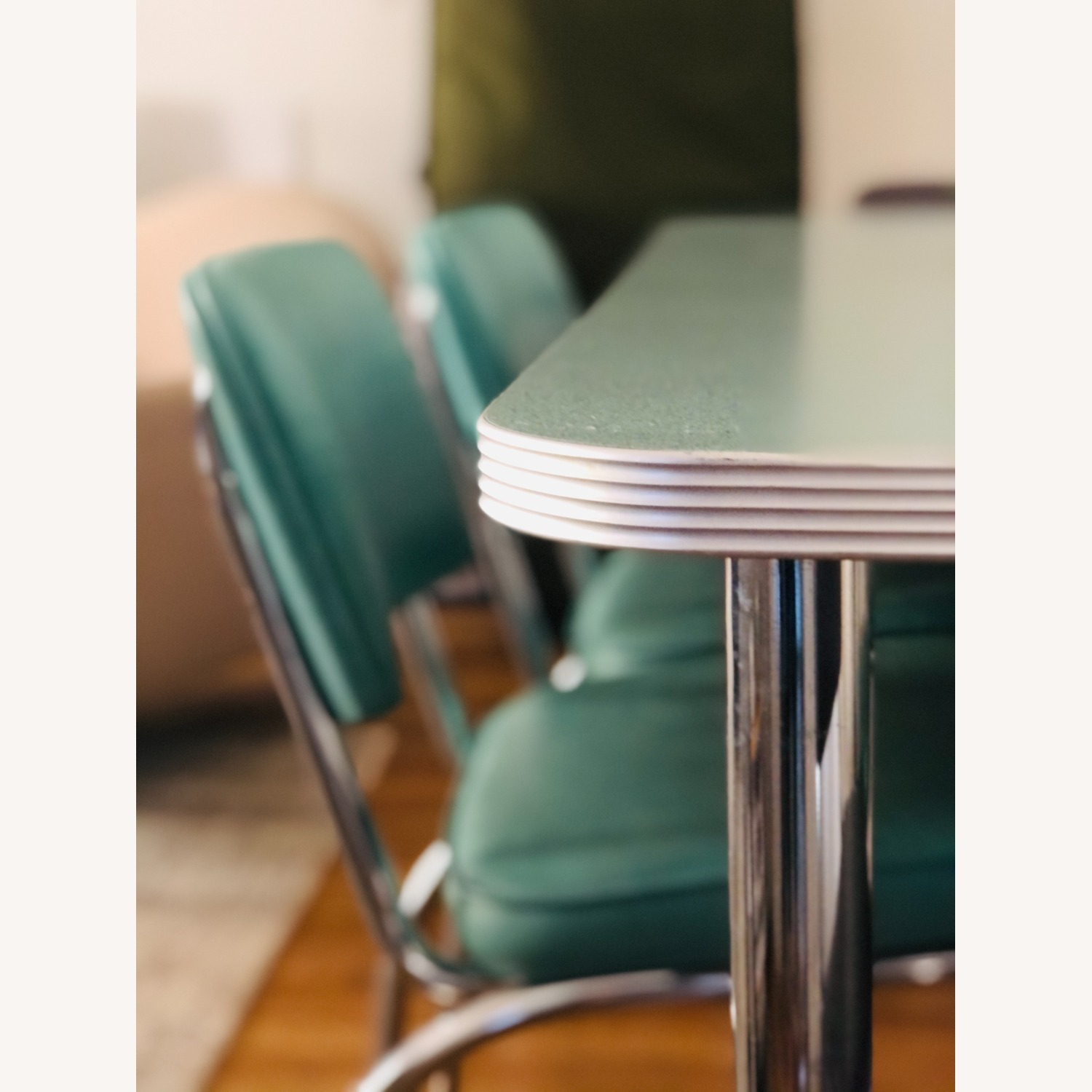 Formica and Chrome Dining Set - image-3