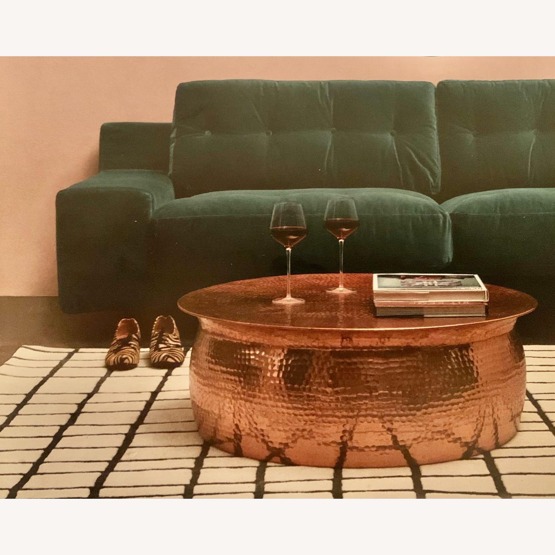 Wayfair Brayden Studio Marsh Drum Coffee Table - image-1
