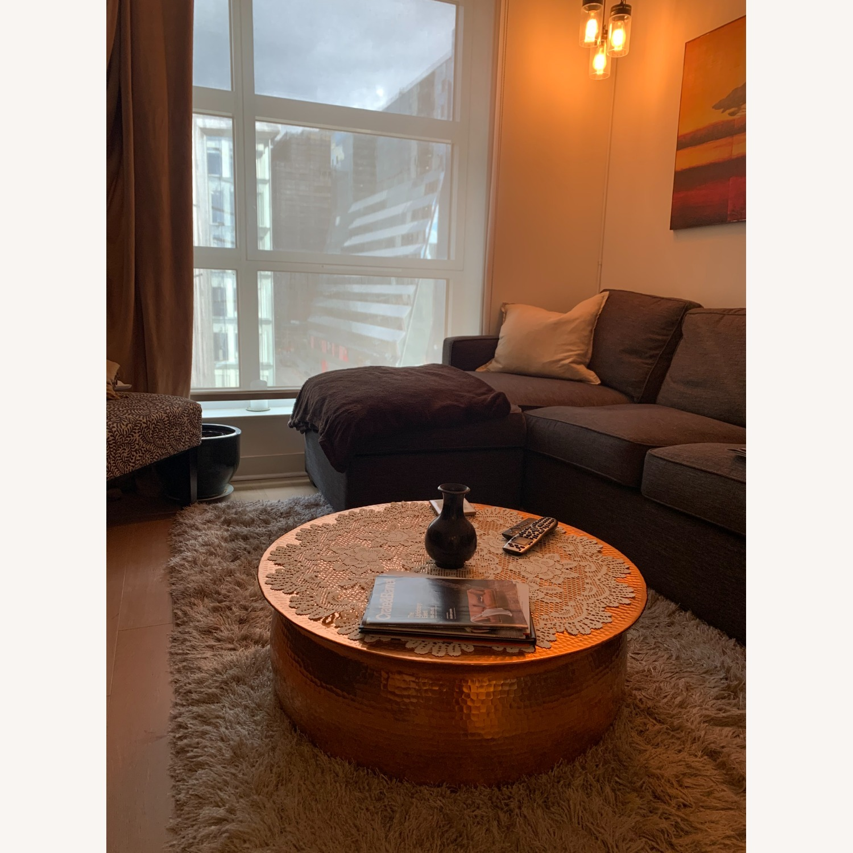 Wayfair Brayden Studio Marsh Drum Coffee Table - image-3