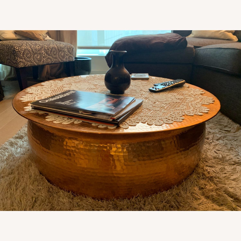Wayfair Brayden Studio Marsh Drum Coffee Table - image-2