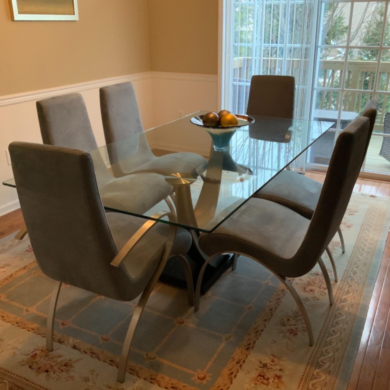 Elite Modern Glass Dining Set - image-1
