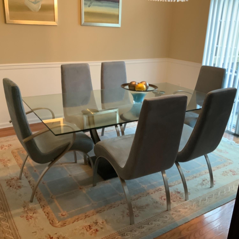 Elite Modern Glass Dining Set - image-2