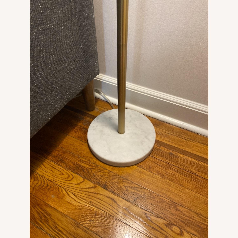 Target White and Brass Metal Adjustable Floor Lamp - image-3