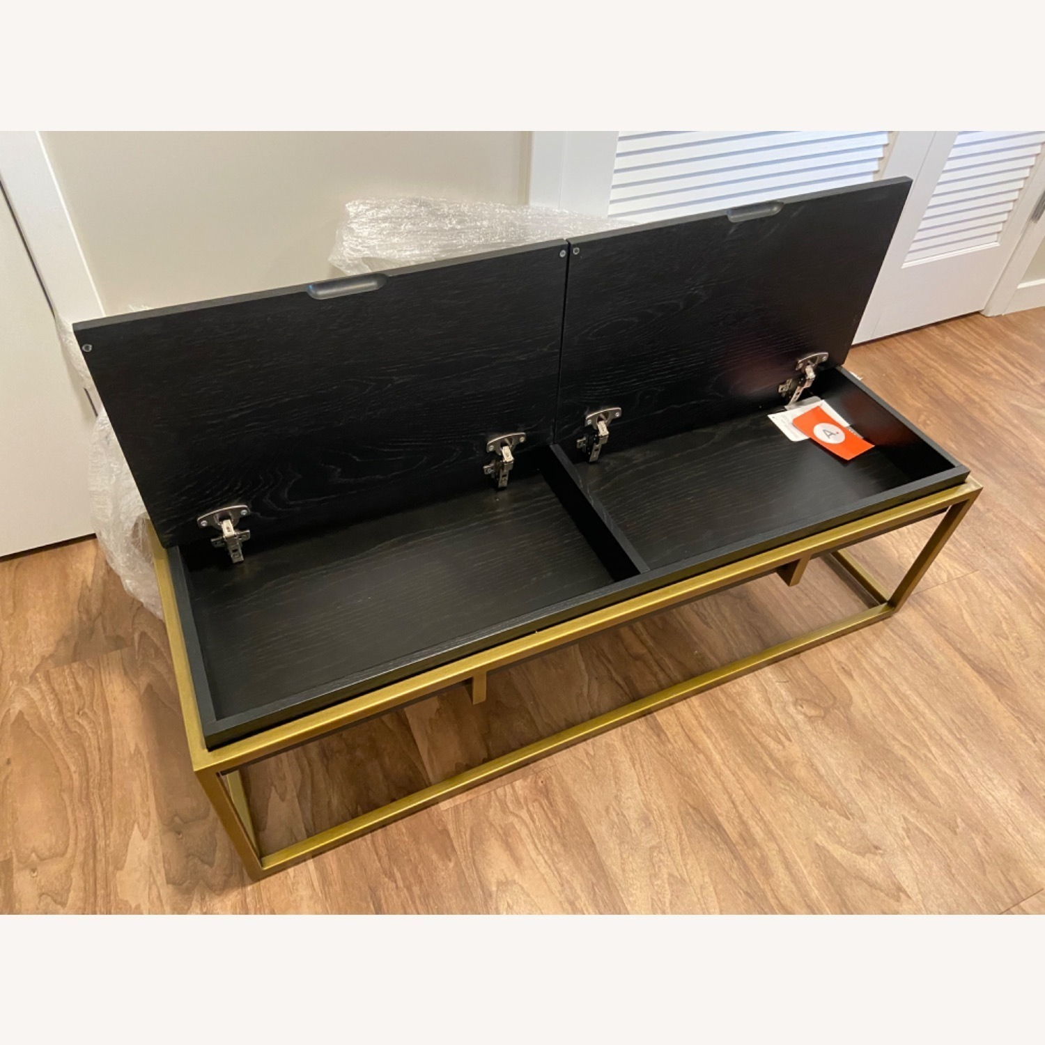 Article Oscuro Black Storage Coffee Table - image-4