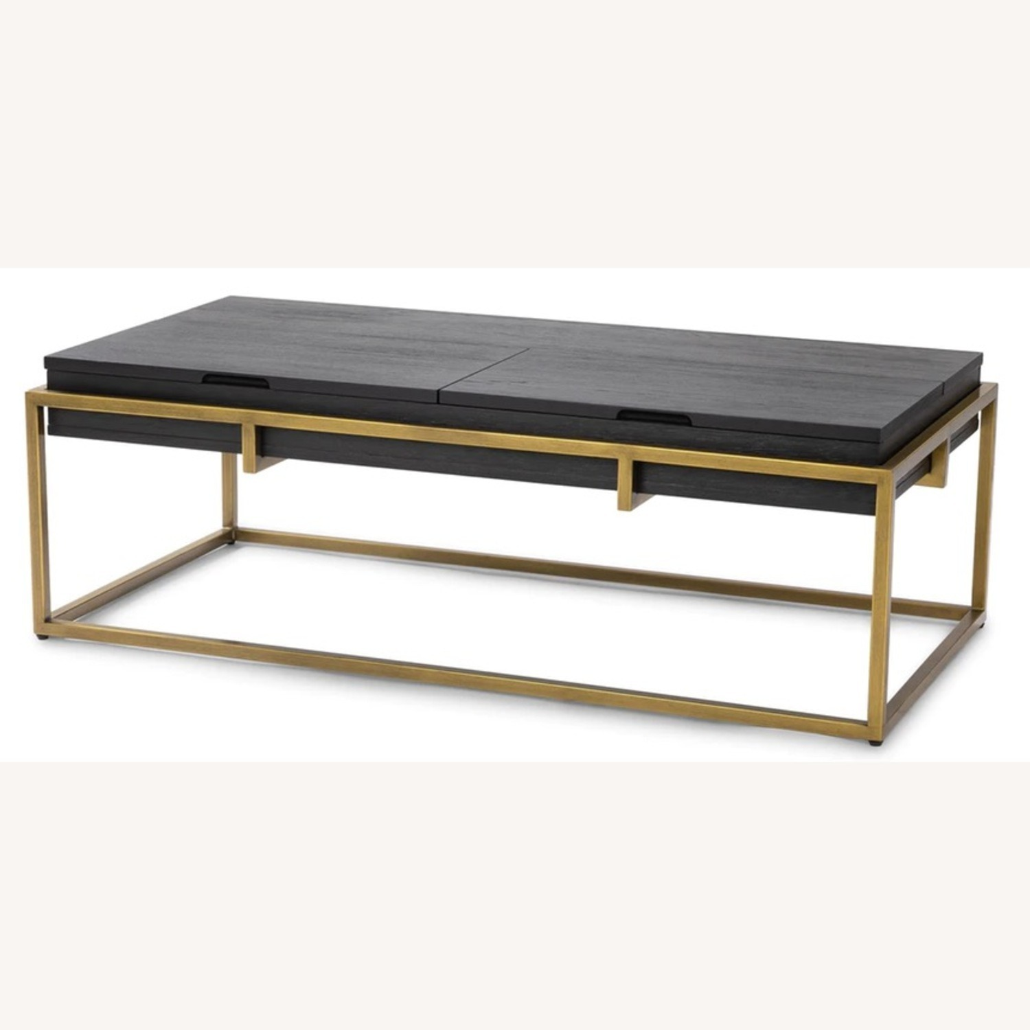 Article Oscuro Black Storage Coffee Table - image-1