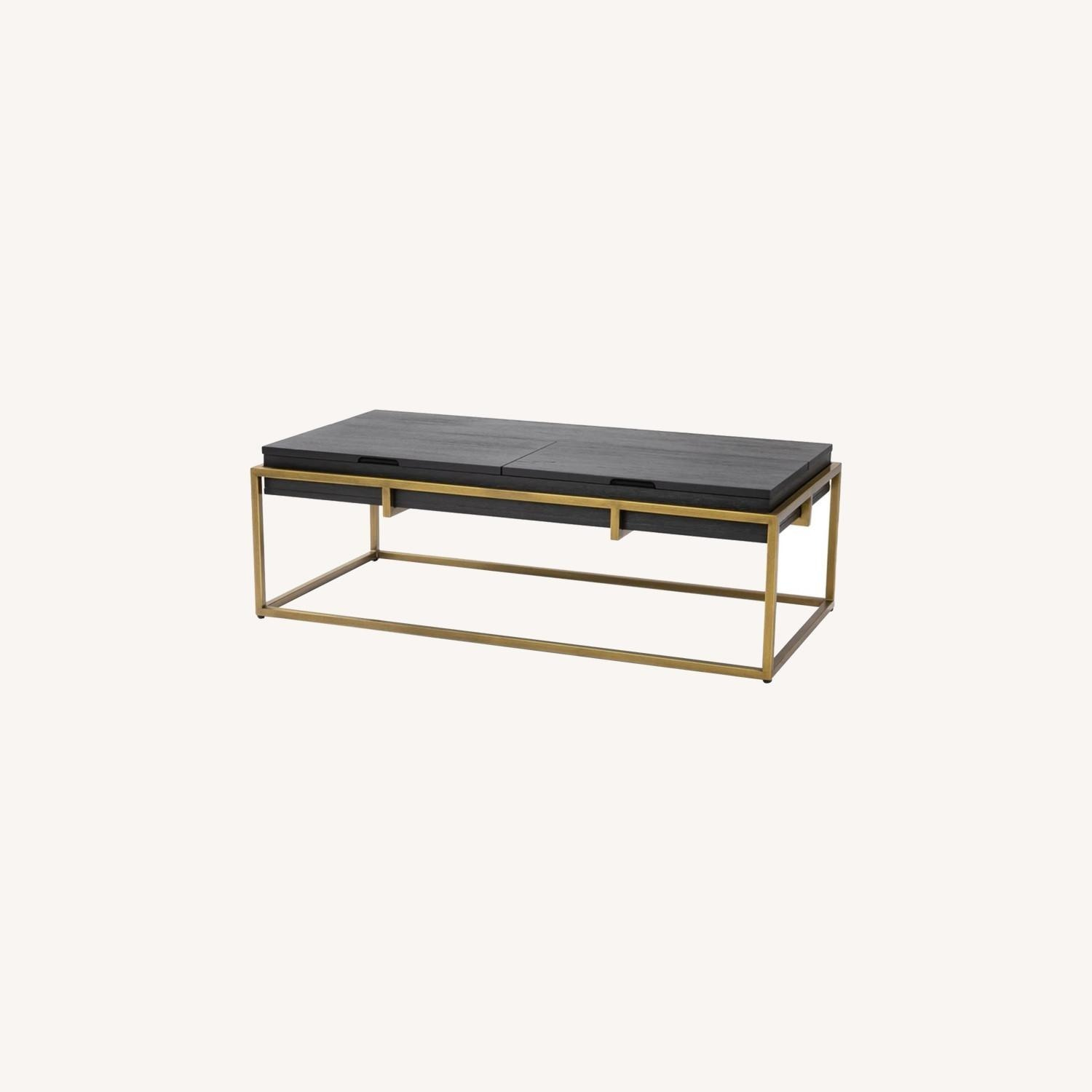 Article Oscuro Black Storage Coffee Table - image-0
