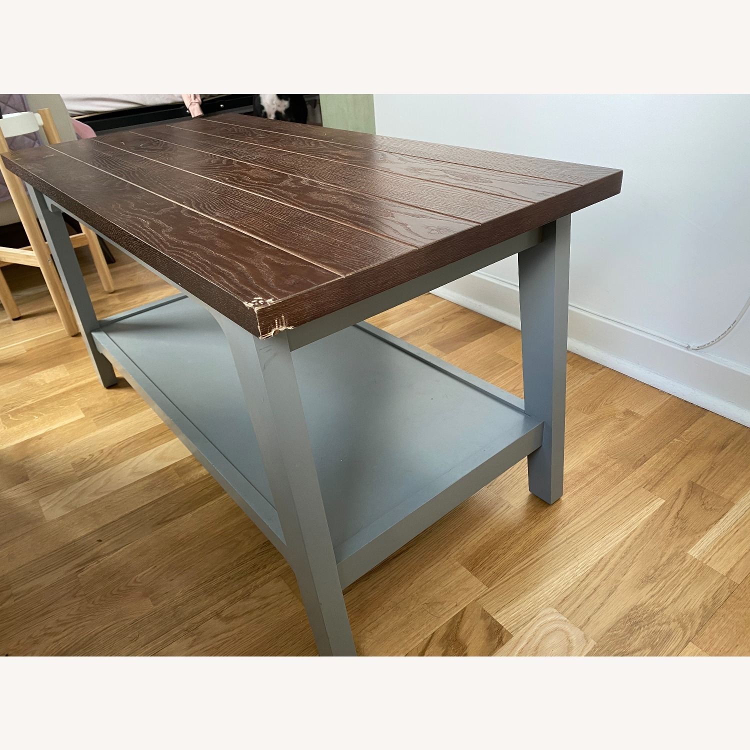Chatham House Newport Coffee Table in Grey - image-2