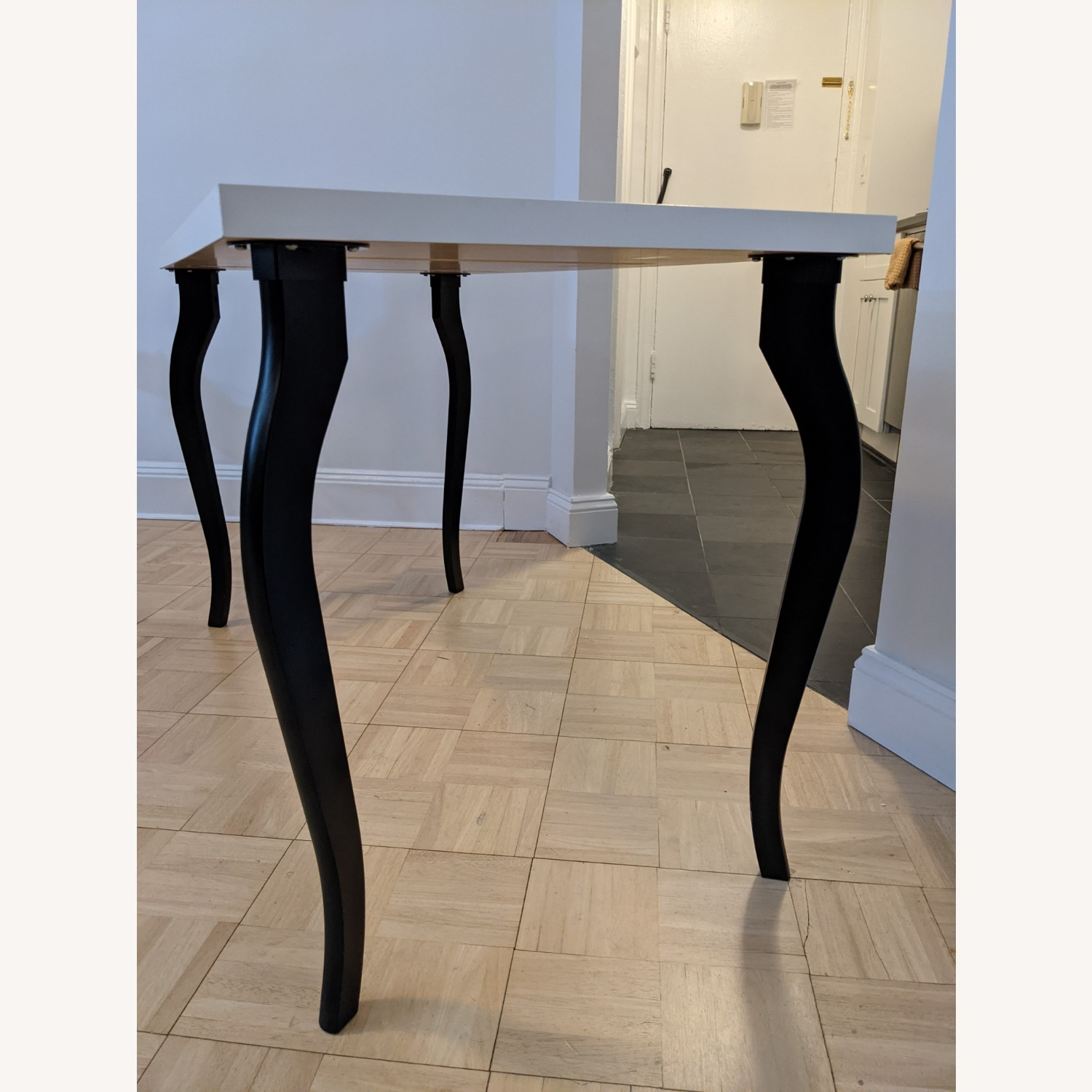 IKEA Linnmon Table Top with Lalle Legs - image-4