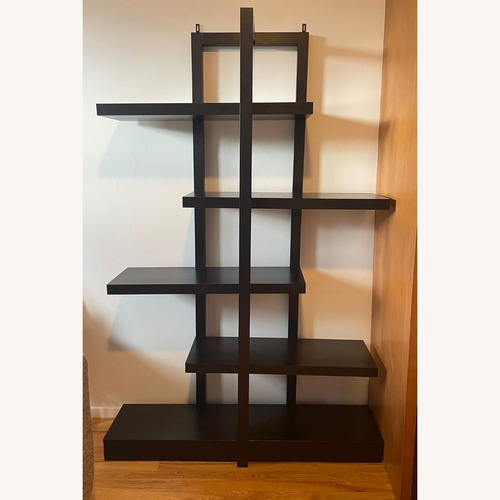 Used Cappuccino-finish Modern Bookcase for sale on AptDeco