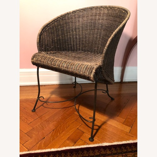 Used Antique Wicker Side Chair for sale on AptDeco