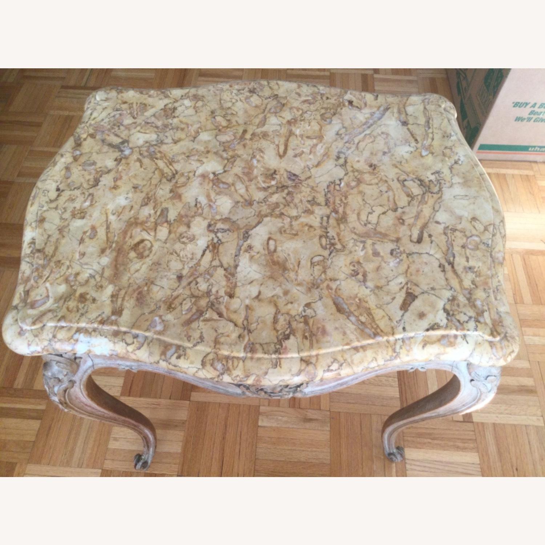 ABC Carpet Vintage Hand Craved Side Table - image-8