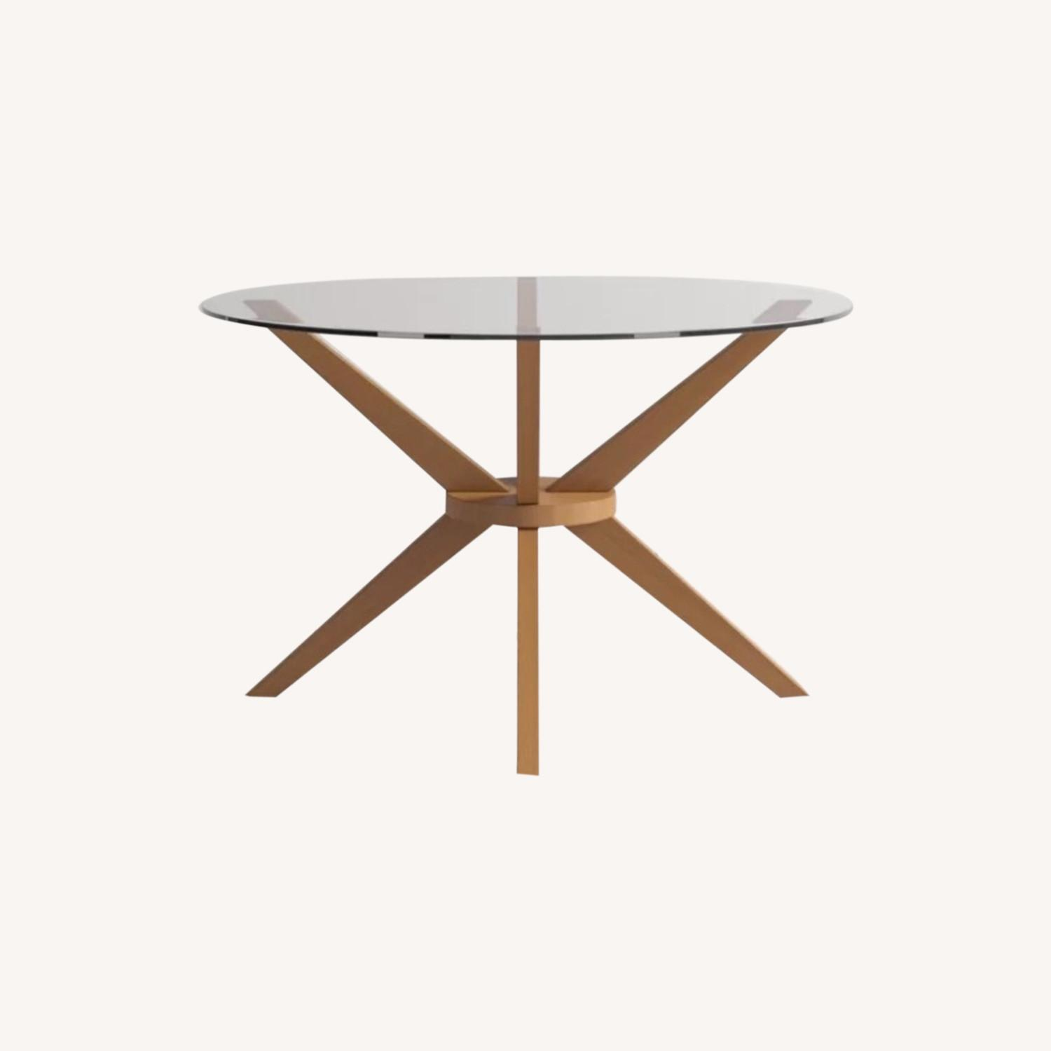 AllModern Rox Solid Wood Dining Table - image-0