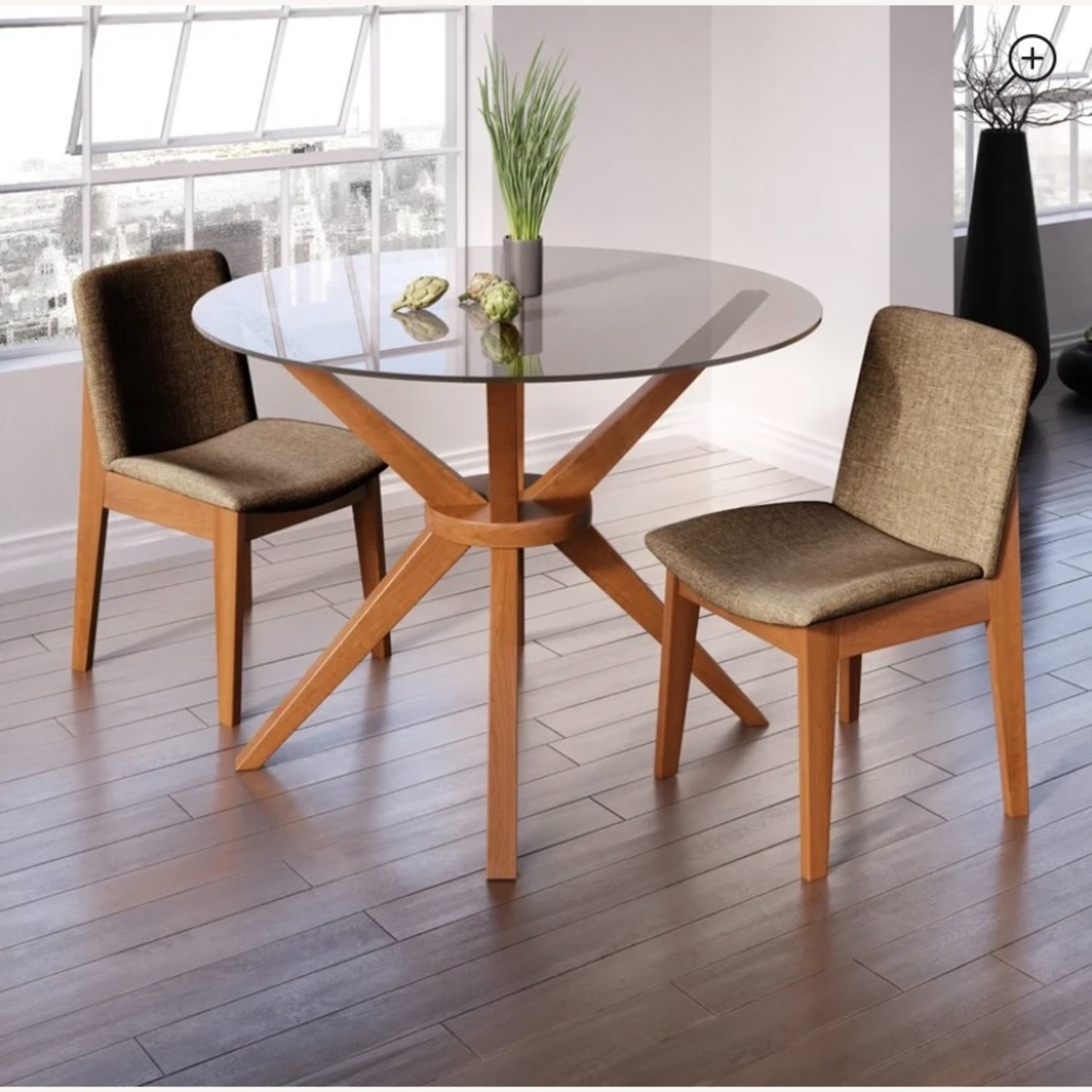 AllModern Rox Solid Wood Dining Table - image-2