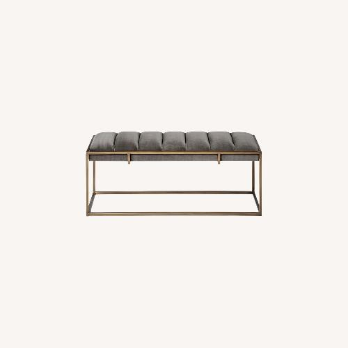 Used West Elm Fontanne Bench for sale on AptDeco