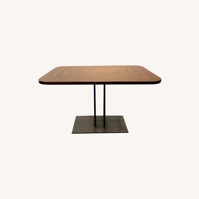 Rectangular Dining Table Round Edges - image-0