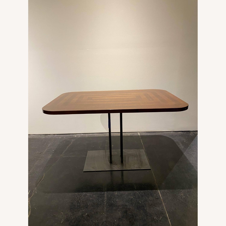 Rectangular Dining Table Round Edges - image-2