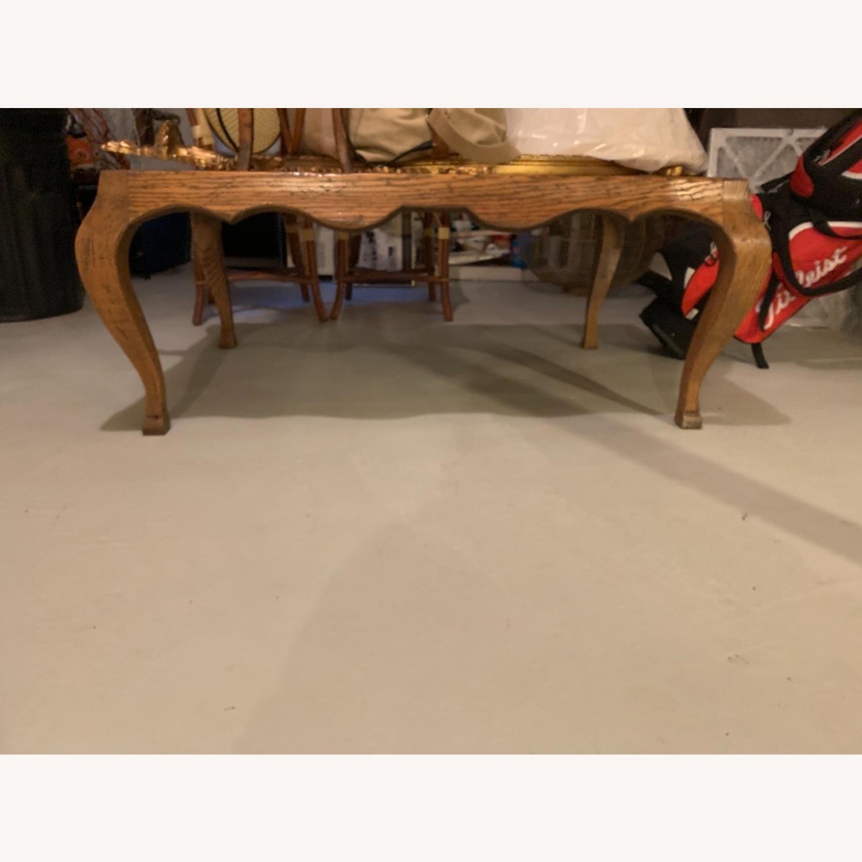 Oak Coffee Table - image-1