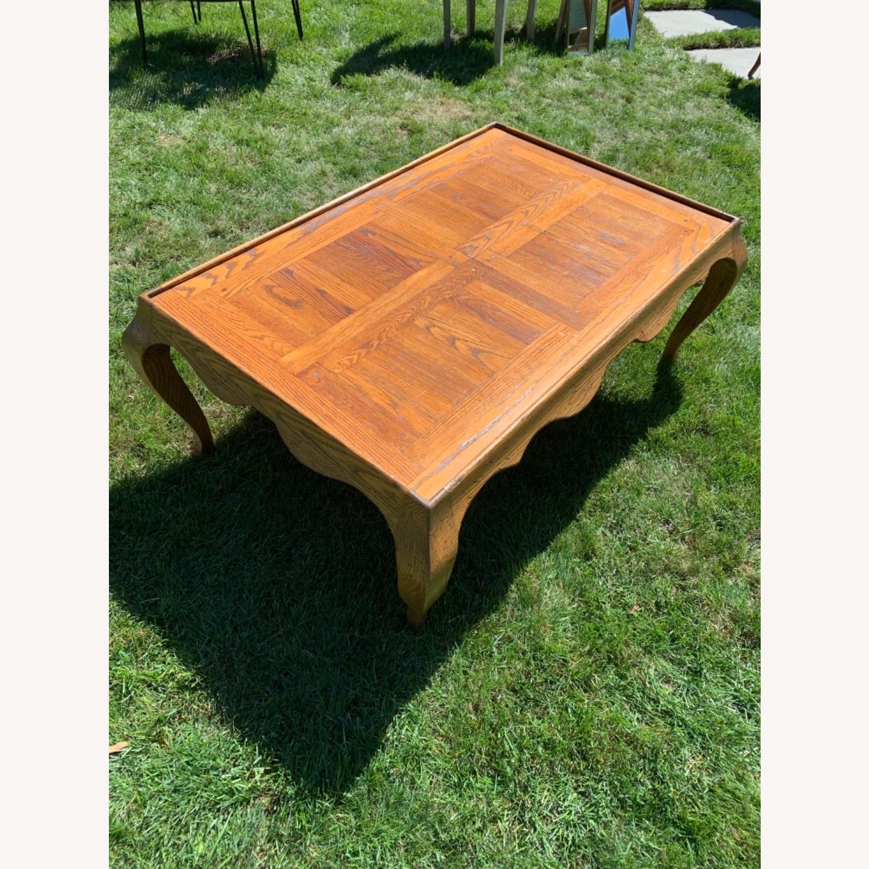 Oak Coffee Table - image-2