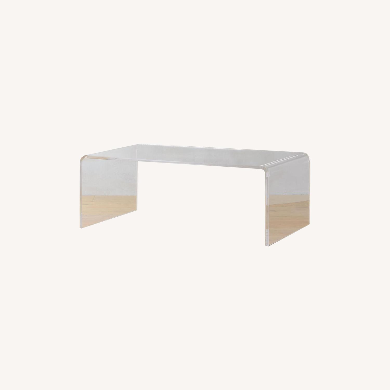 CB2 Peekaboo Acrylic Coffee Table - image-0