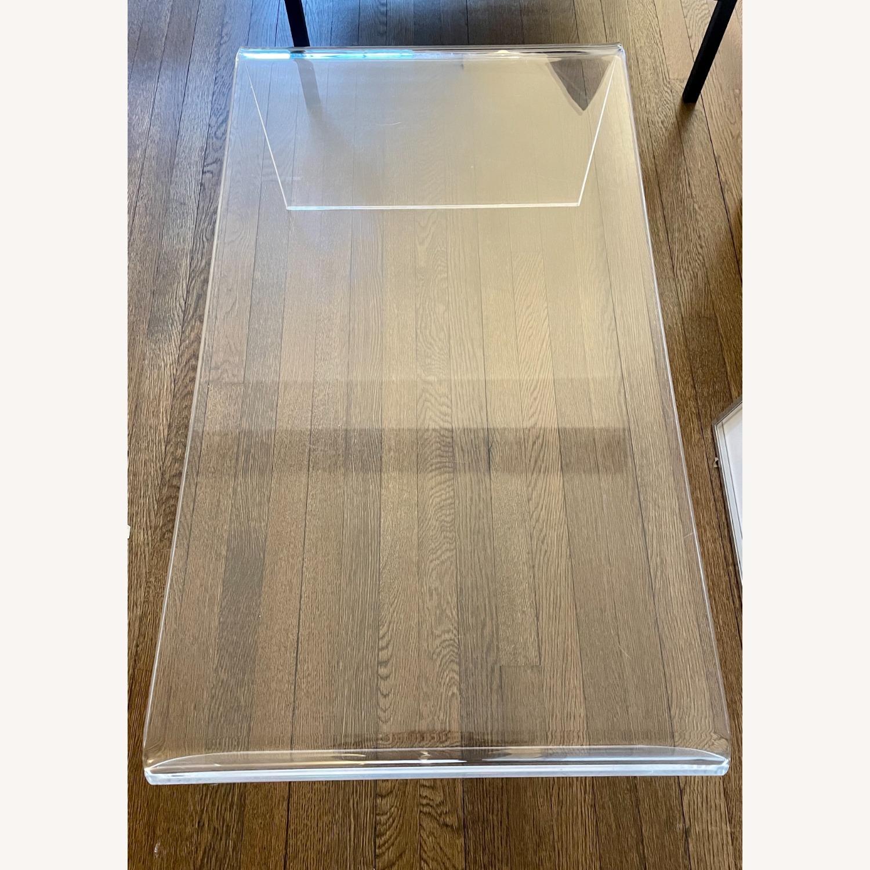 CB2 Peekaboo Acrylic Coffee Table - image-3