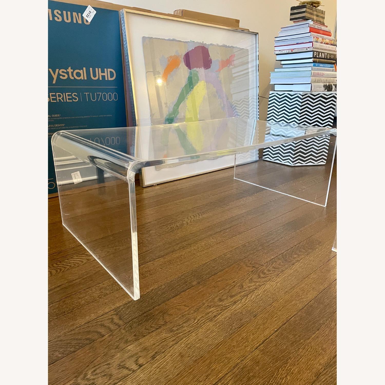 CB2 Peekaboo Acrylic Coffee Table - image-1