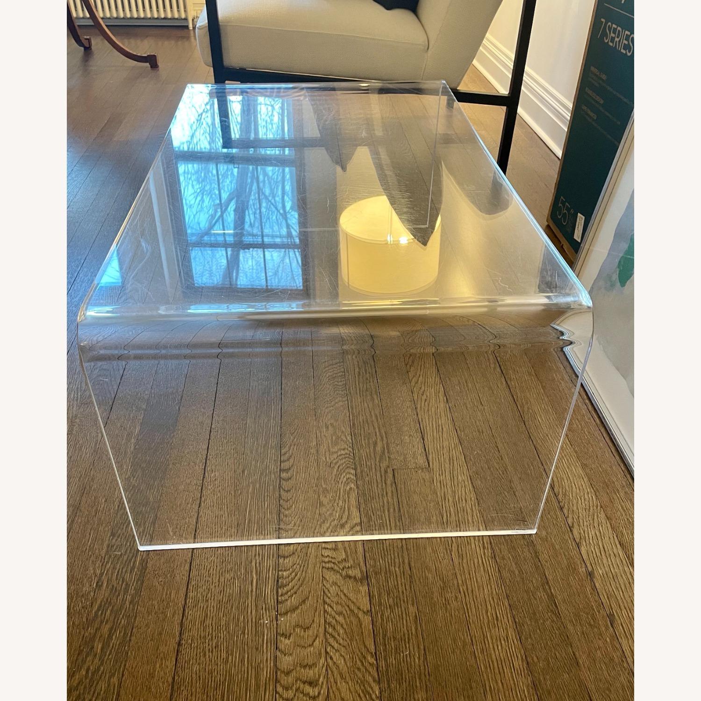 CB2 Peekaboo Acrylic Coffee Table - image-2