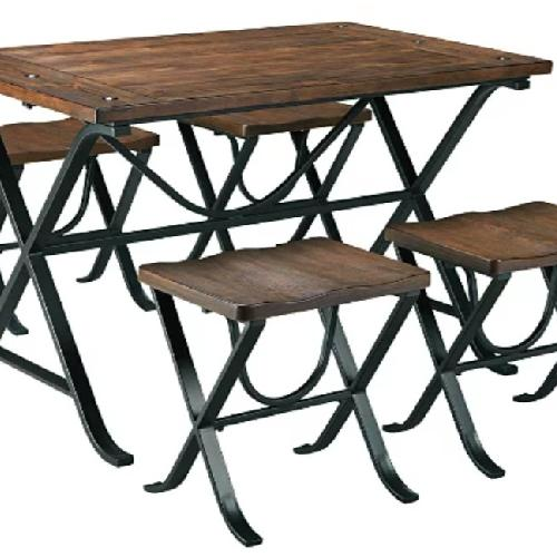Used Ashley Furniture Freimore Dining Table for sale on AptDeco