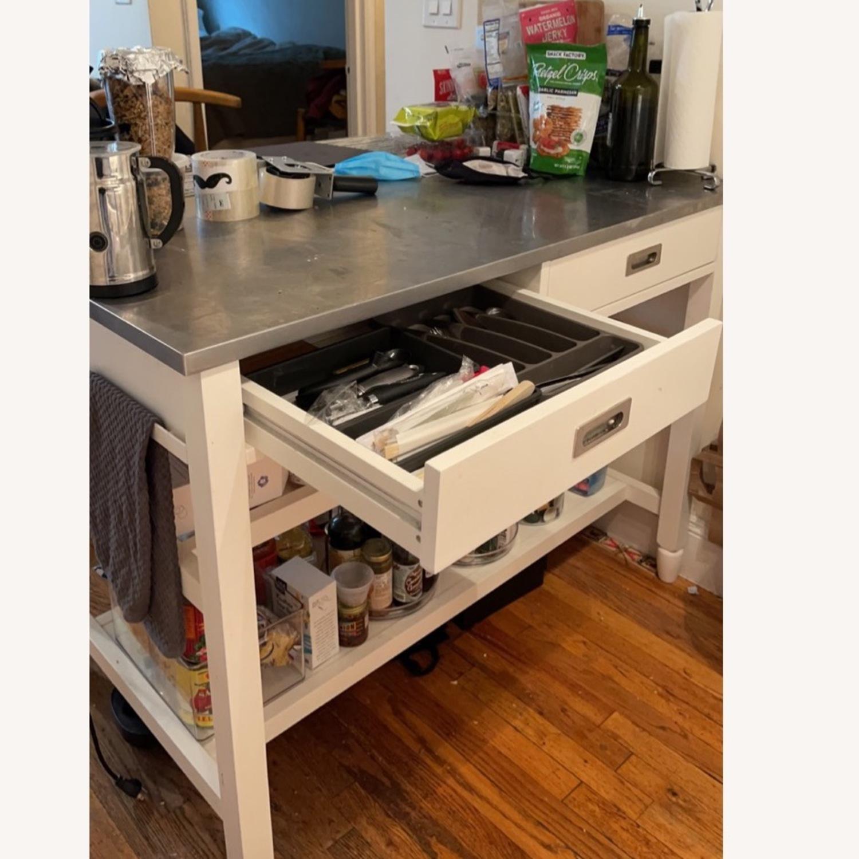 Crate & Barrel Kitchen Island - image-3