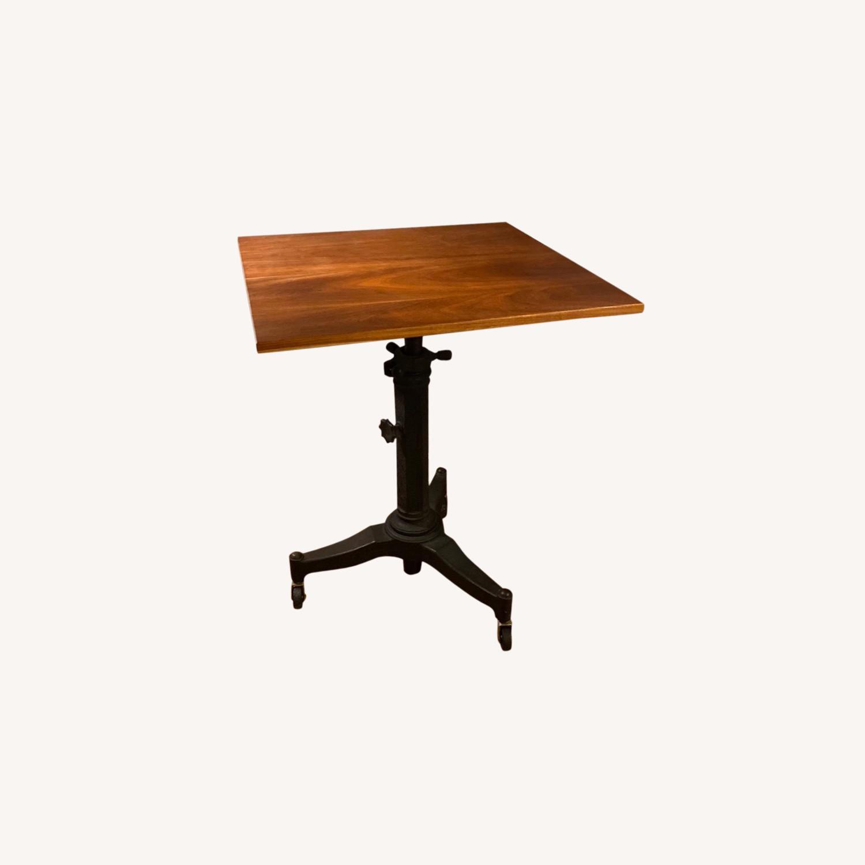 Rejuvenation Antique Pedestal Desk - image-0