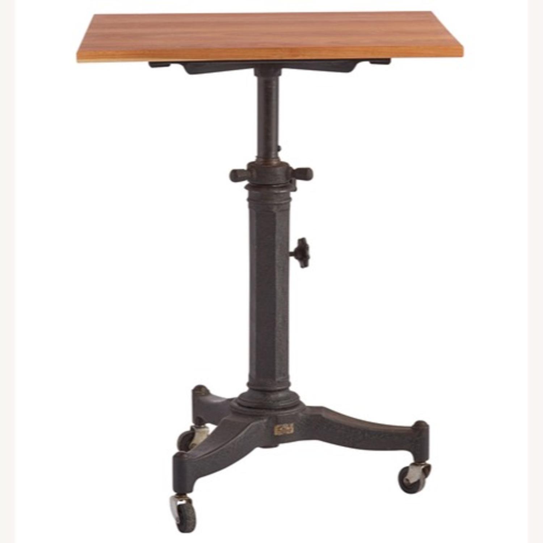 Rejuvenation Antique Pedestal Desk - image-4