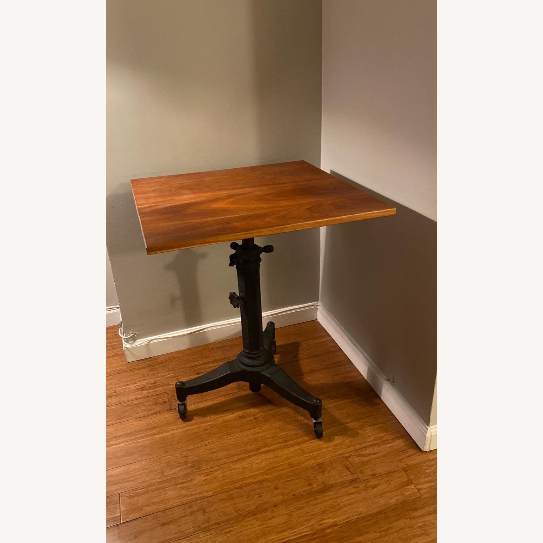 Rejuvenation Antique Pedestal Desk - image-1