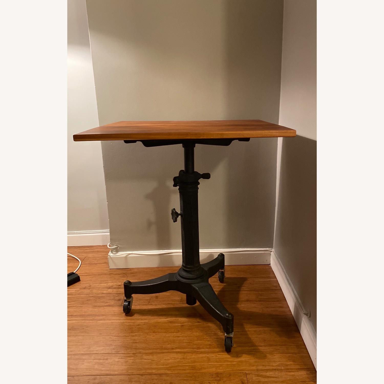 Rejuvenation Antique Pedestal Desk - image-2
