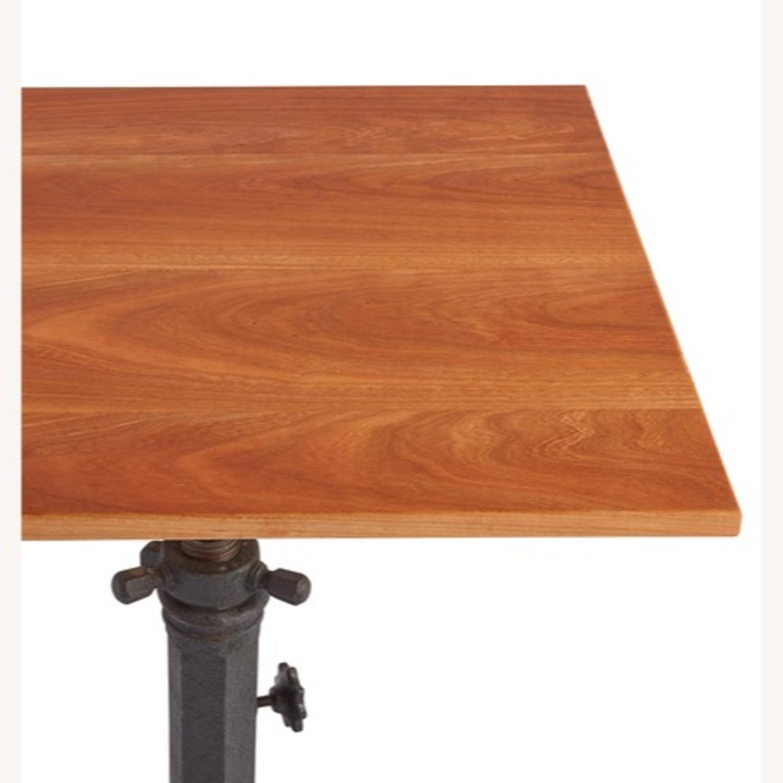 Rejuvenation Antique Pedestal Desk - image-3