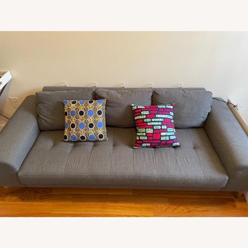 Used AllModern Grey Sofa for sale on AptDeco