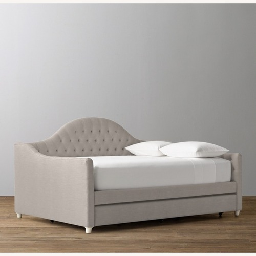 Used Restoration Hardware Dove Reese Daybed w/Trundle for sale on AptDeco