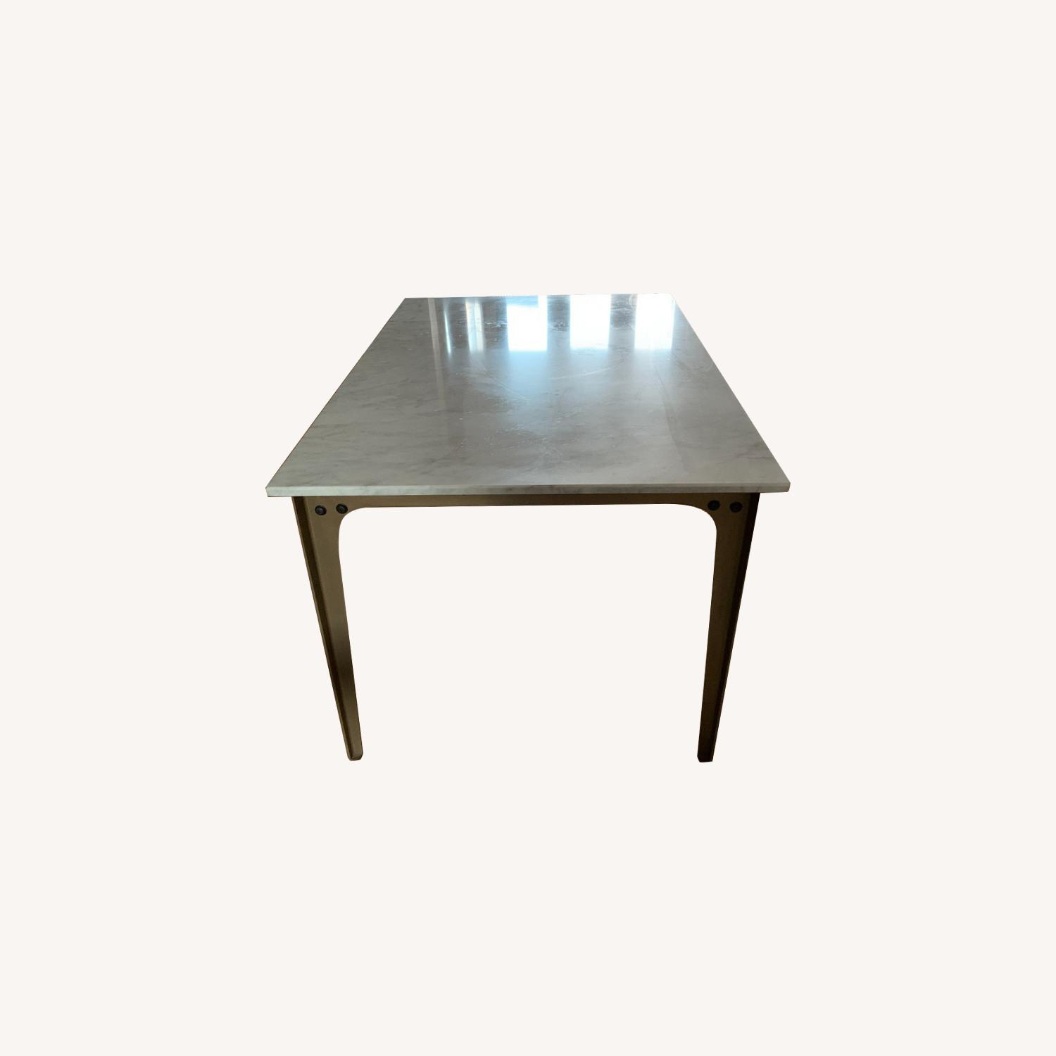 CB2 Marble Dining Table - image-0