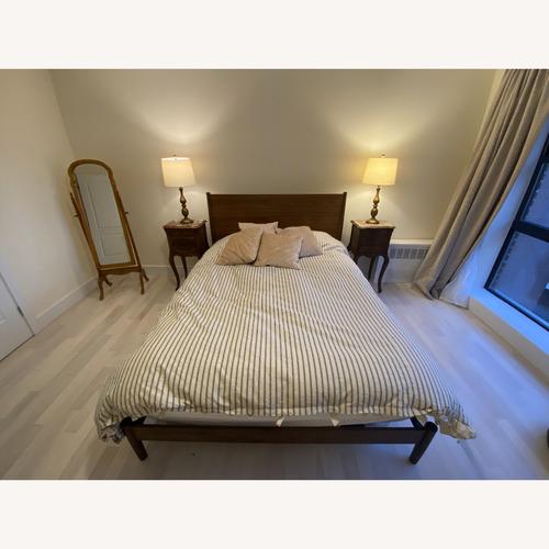 Used AllModern Langford Platform Queen Size Bed for sale on AptDeco