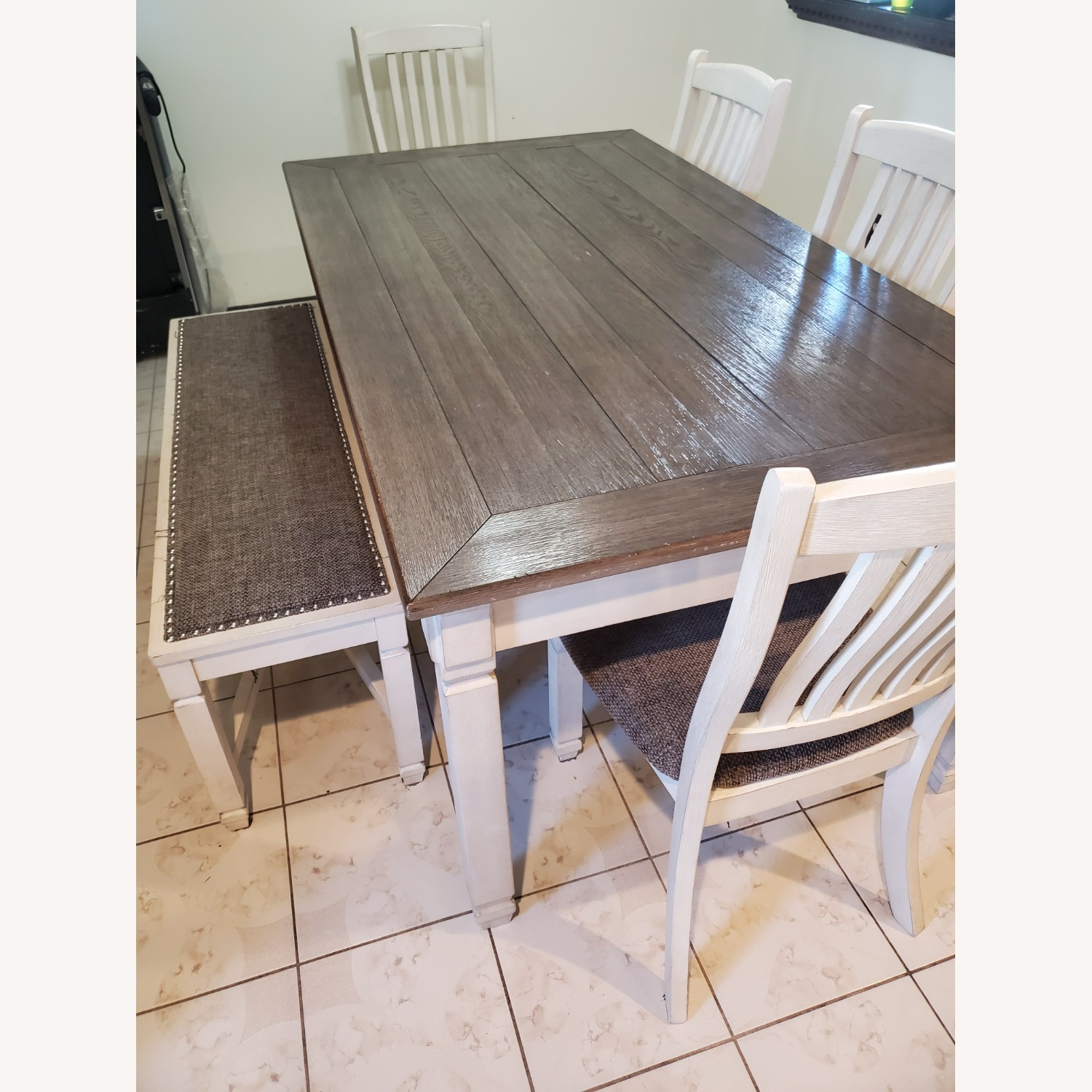 New Rustics Ashley Home Dining Table Seats 7 - image-3