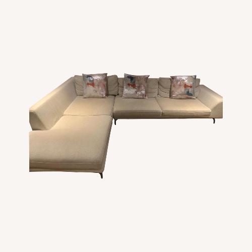 Used Roche Bobois White Sofa for sale on AptDeco