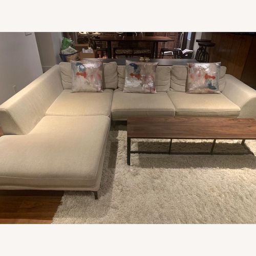 Used Roche Bobois White Sofa for sale on AptDeco