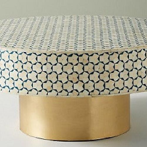 Used Anthropologie Targua Moroccan Coffee Table for sale on AptDeco