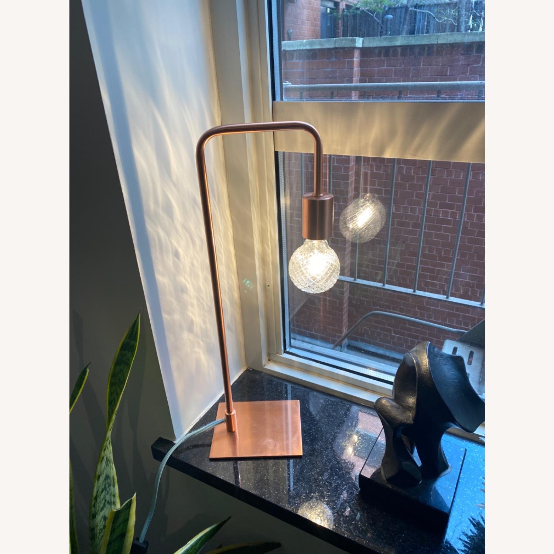 CB2 Arc Table lamp - image-4