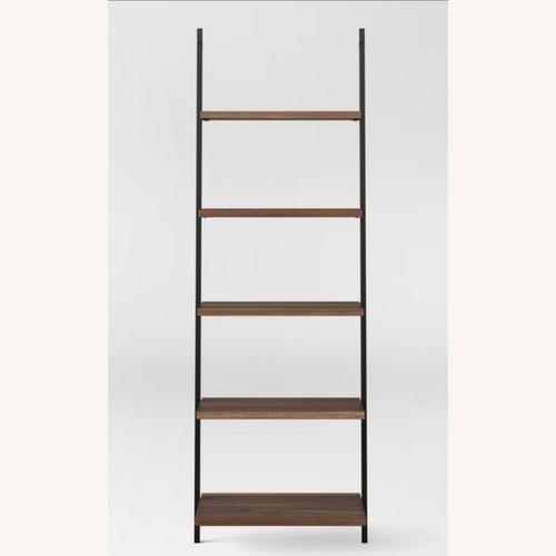 Used Target Loring Leaning Bookshelf- 72-5 Shelf for sale on AptDeco